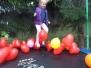 Balonowa trampolina