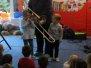 Koncert muzyczny  dziadzio i puzon