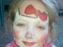 Mali i Duzi malowali buzie w stoisku naszego przedszkola na Dniach Aleksandrowa. Kolejka nie miała końca....