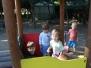 maluszki w ogrodzie przedszkolnym